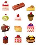 De cakepictogram van het beeldverhaal vector illustratie