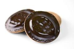 De cakes of de koekjes van Jaffa Stock Fotografie