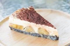 De cakes van de Banoffeepastei Royalty-vrije Stock Foto