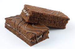 De cakes van de chocolade Royalty-vrije Stock Foto