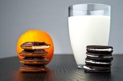 De cakes van de chocolade Stock Foto's
