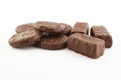 De cakes van de chocolade Stock Afbeelding