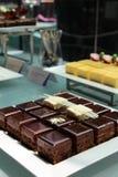 De cakes van de chocolade Stock Afbeeldingen