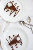 De cakes van de chocolade Royalty-vrije Stock Afbeelding