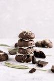 De cakes van de chocolade Royalty-vrije Stock Fotografie