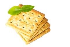 De cakes van de cracker. Stock Fotografie