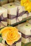 De Cakes van de doos Royalty-vrije Stock Afbeeldingen