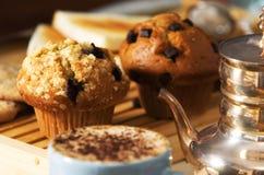 De cakes van de koffie Royalty-vrije Stock Fotografie