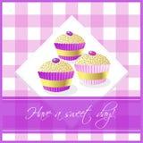 De cakes van de kop Royalty-vrije Stock Foto