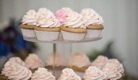 De cakes van de kop Stock Foto's