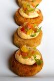 De Cakes van de krab stock fotografie