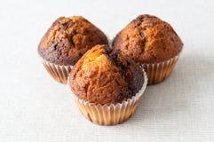 De cakes van de muffin Royalty-vrije Stock Afbeelding
