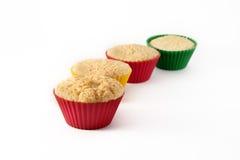 De cakes van de muffin Royalty-vrije Stock Afbeeldingen