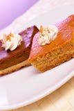 De cakes van de pompoen Stock Fotografie