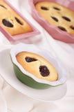 De cakes van de pruim Royalty-vrije Stock Afbeeldingen