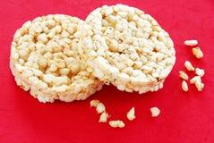 De cakes van de rijst royalty-vrije stock afbeelding