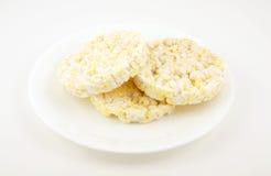 De cakes van de rijst Stock Afbeelding