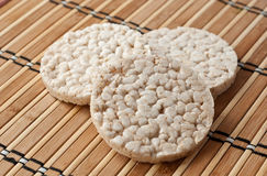De cakes van de rijst Stock Foto's