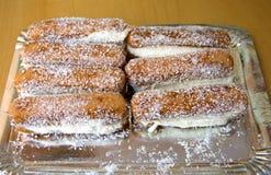 De cakes van de room Royalty-vrije Stock Afbeelding