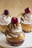 De cakes van de slagroom Royalty-vrije Stock Afbeelding