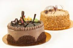 De cakes van de verjaardag Stock Fotografie