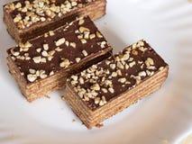 De cakes van de wafel Royalty-vrije Stock Foto