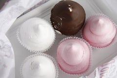 De cakes van de zachte toffee Royalty-vrije Stock Fotografie