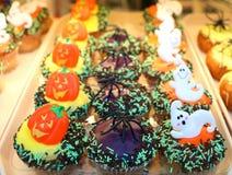 De cakes van Halloween Royalty-vrije Stock Afbeeldingen