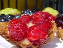 De cakes van het fruit stock afbeelding