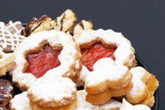De cakes van Kerstmis Royalty-vrije Stock Foto's