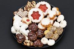 De cakes van Kerstmis Stock Fotografie