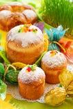 De cakes van Pasen stock foto's