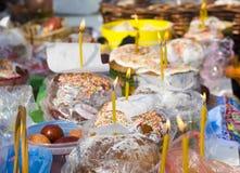 De cakes van Pasen royalty-vrije stock afbeeldingen