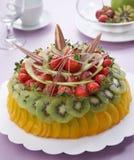 De cakes van vruchten royalty-vrije stock afbeelding