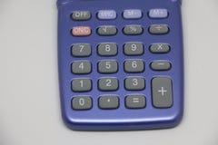 De calculator knoopt dicht omhoog dicht Royalty-vrije Stock Foto's