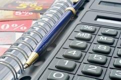 De calculator van de zak Royalty-vrije Stock Afbeelding