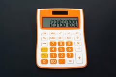 De calculator van het bureau Stock Afbeelding