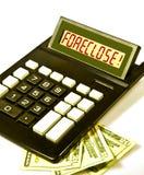 De calculator zegt   Royalty-vrije Stock Afbeelding