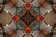 De Caleidoscoop van het kleurpotlood Stock Afbeelding