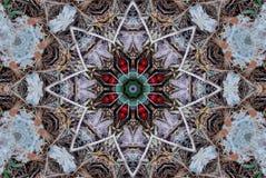 De Caleidoscoop van het kleurpotlood Royalty-vrije Stock Afbeeldingen