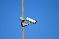 De camera's van de veiligheid Stock Fotografie