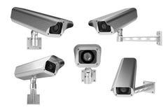 De camera's van het toezicht Royalty-vrije Stock Foto