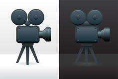 De camera van de film Stock Foto
