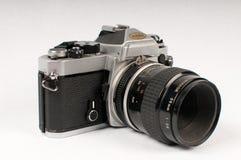 De Camera van de film SLR Stock Afbeeldingen