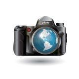 De camera van de foto stock illustratie