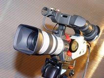 De camera van de televisie stock fotografie