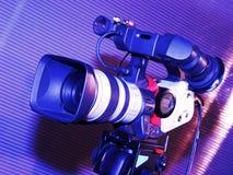De camera van de televisie Stock Afbeeldingen