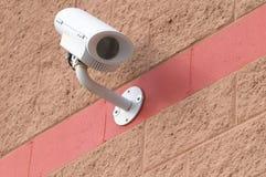 De camera van de veiligheid bij de bouw Royalty-vrije Stock Afbeeldingen