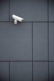 De camera van de veiligheid bij de bureaubouw Royalty-vrije Stock Fotografie