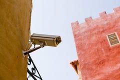 De Camera van de Veiligheid van kabeltelevisie Stock Afbeelding